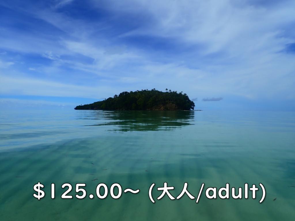 1day カヤック ガラロン島